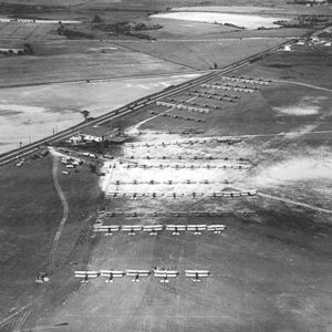 Regional Air Race 1928 with Numeruos Army Air Service planes